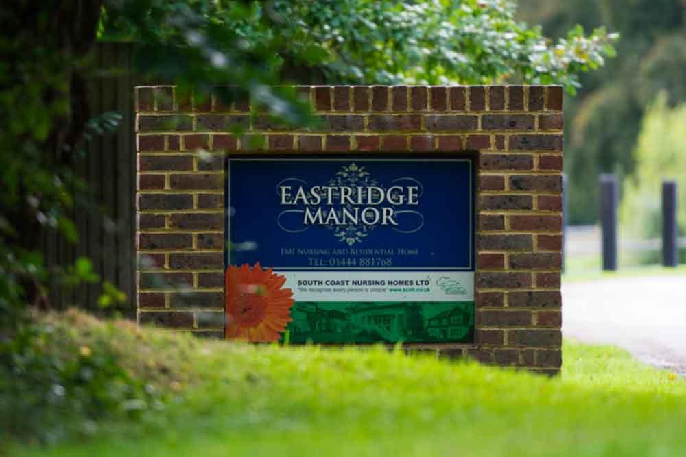 South Coast Nursing Homes Eastridge Manor Care Home