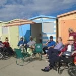 Day trip to the beach, Abundant Grace nursing home, Seaford, East Sussex