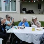 Summer BBQ, Eastridge Manor nursing home, Bolney, West Sussex