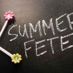 Summer fete text