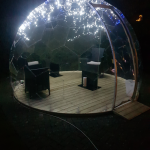Visitor pod, White Lodge, Angmering, West Sussex,